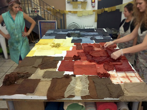 Weekend Intensive: Natural Dyeing @ Textile Arts Center