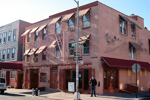 ブルックリンのカフェ、Williamsburgh Cafe