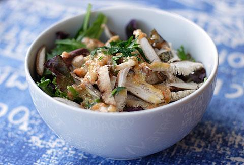 椎茸サラダ