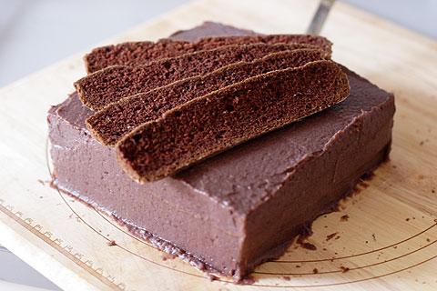 あんこチョコケーキ