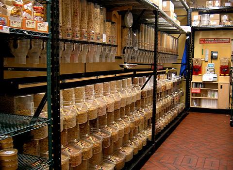 量り売りナッツとドライフルーツ