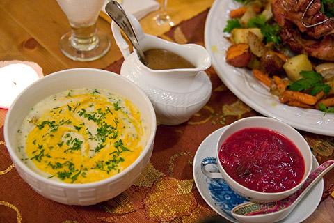 サンクスギビングデー料理:添え野菜料理