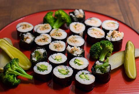 巻き寿司豪華?盛り合わせ