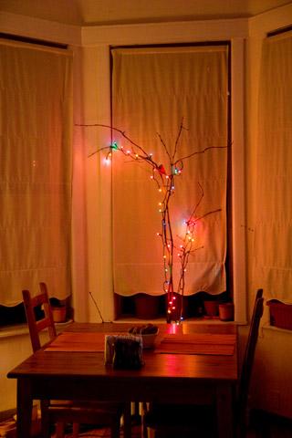 我が家のプレ・クリスマスツリー