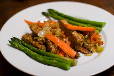 テンペー野菜炒め