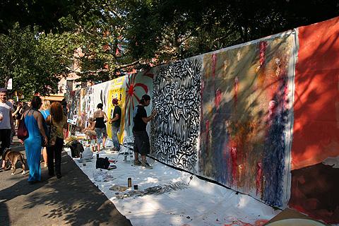Art around the Park Howl Festival