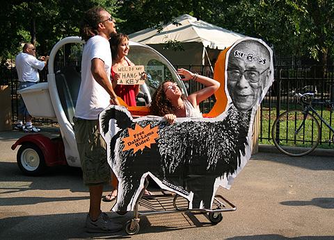 Free Dalai-Lama Rider
