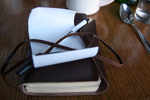 お勘定と日記帳