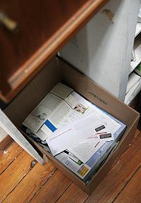 紙リサイクル用段ボール箱