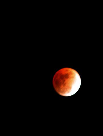 皆既月食2008年2月20日