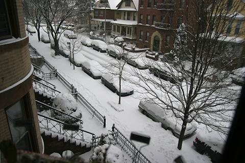 2008年ニューヨークの雪2月