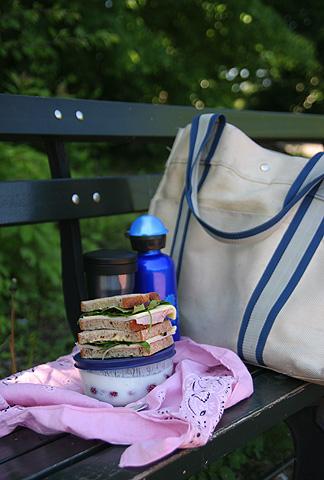 朝ごはんピクニック