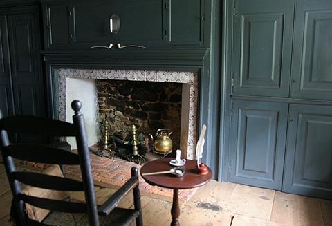 ニュー英国式暖炉:ニューヨーク最古ファームハウスのミュージアム