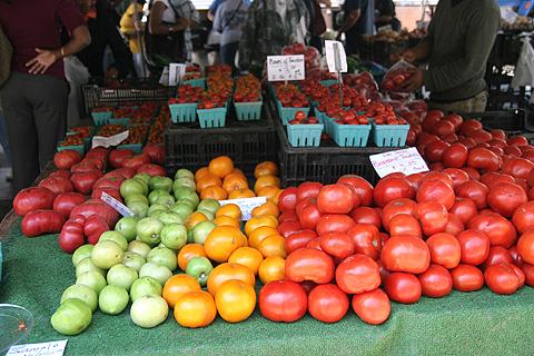 イエロートマト、グリーントマト