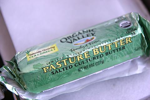 旬のオーガニックバター