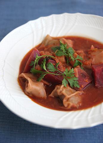 ワンタン・ラビオリ・具沢山スープ