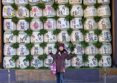 平安神宮日本酒の神様