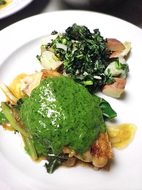 セントパトリックス・デー・イブの緑のディナー