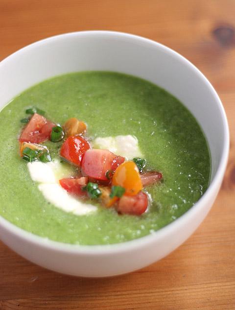 冷製豆ピー・スープ