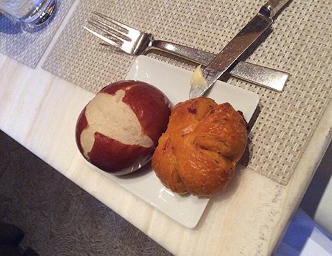 グルメ食べ放題パン - Le Bernardin ニューヨーク4つ星フレンチレストラン
