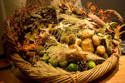 秋が旬の食材