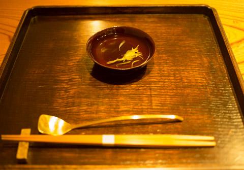 菊の花びらのお酒