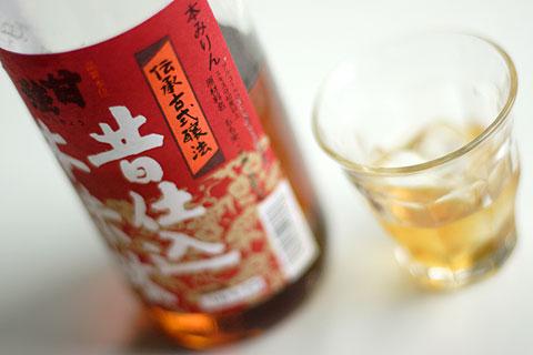 甘強昔仕込本味醂・伝承古式醸法