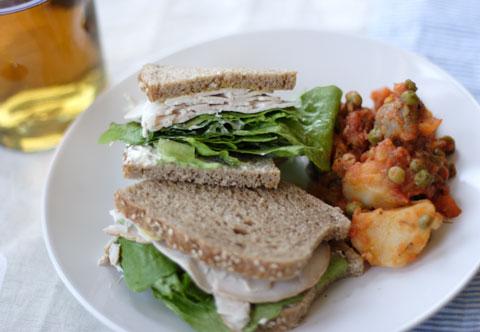 ターキー・サンドイッチ