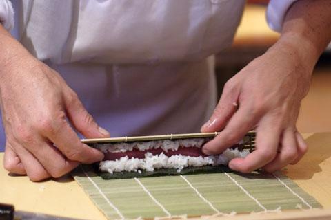 巻き寿司のコツ