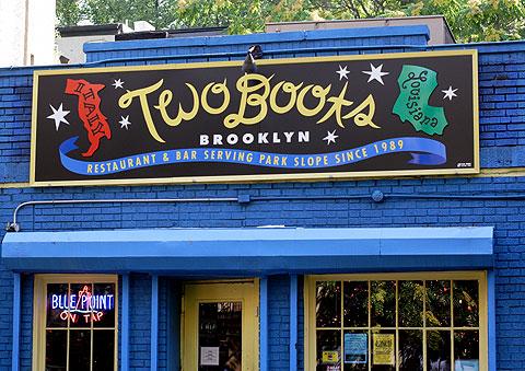 ブルックリンのクレオール料理、Two Boots