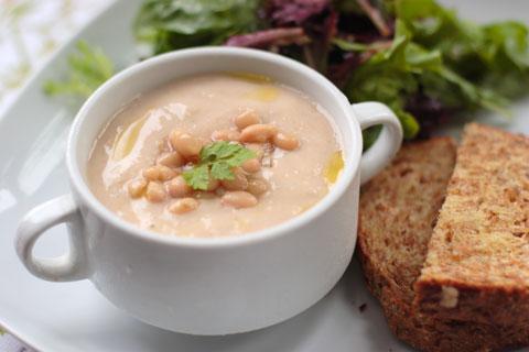 お豆と豆乳のポタージュ・スープ