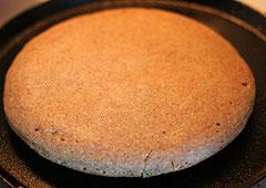 ホットケーキの焼け目