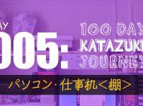 【片付け100日の旅】5日目:仕事机の上の電源プラグごちゃごちゃ