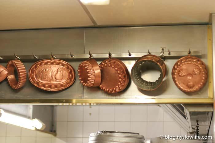 ポール・ボキューズのキッチンの銅製型